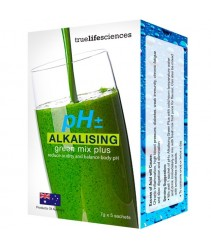 Truelifesciences pH Alkalising Green Mix Plus 7g X 5'S