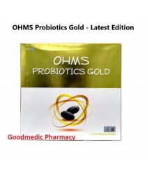 OHMS Probiotics Gold 60's vege softgel