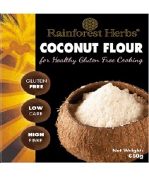 Rainforest Herbs Organic Coconut Flour 650gm