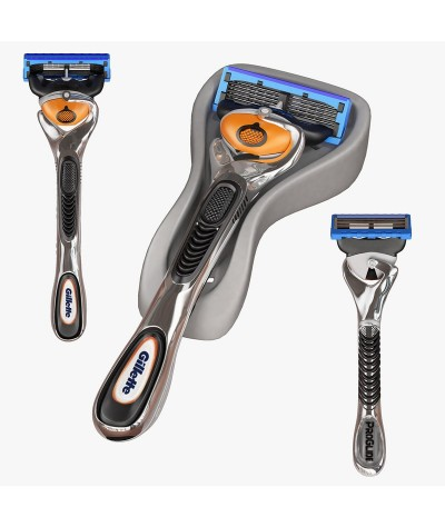 Gillette Men Fusion ProGlide Razor with FlexBall™ 1 Handle + 1 Blade