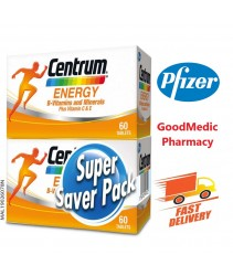 Centrum Energy B-Vitamins And Minerals Plus Vitamin C & E