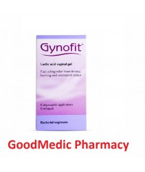 Gynofit Lactic Acid Vaginal Gel 6 X 5ml
