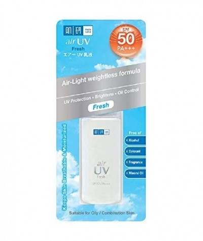Hada Labo Air UV SPF 50+++ Fresh Air-Light Weightless Formula 30g