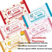 Au Fairy Kills 99.99% Bacteria Anti-Bacterial Wet Tissue Wipes Contain No Alcohol (10s)