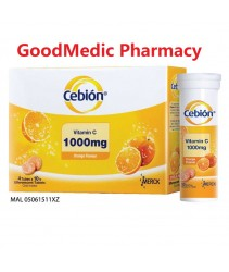 Cebion Vitamin C Efferverscent Tab 4 x 10s (Ready Stock)
