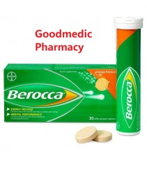 Bayer Berocca Effervescent Orange Tablets (30's)