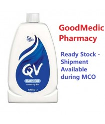 Ego QV Bath Oil 500ml - Ready stock Revives Dry Skin
