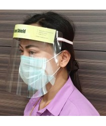Benxon Face Shield Mask with Anti-fog Coating - Ready stock