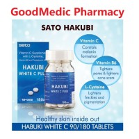 SATO HAKUBI White C Plus 180 Tablet (Exp Jun 2021)