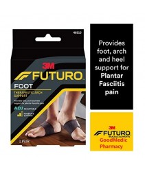 Futuro Foot Support Therapeutic Arch Support for Plantar Fascilitis Pain - 1 pair 48510