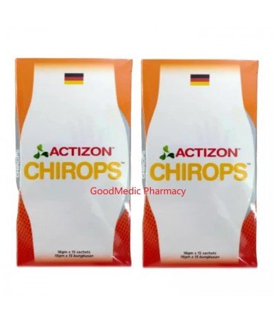 ACTIZON Chirops 18g x 15 sachets (for joint and knee pain, improve skin and bone health)