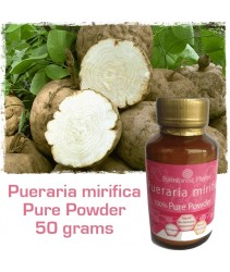 Rainforest Herbs Pueraria mirifica powder-50gm-100% Pure Organic Powder from Thailand