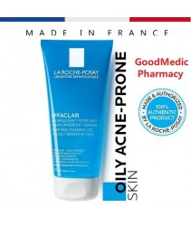 La Roche-Posay Effaclar Cleanser Foaming Purifying Gel 200ml [Oily Acne-Prone Skin]