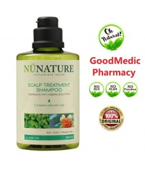 NuNature Scalp Treament Shampoo 450ml (Nu Nature Sensitive Scalp Shampoo)