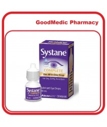 ALCON Systane Complete 10ml The All-in One Drop Complete Solution for Dry Eyes