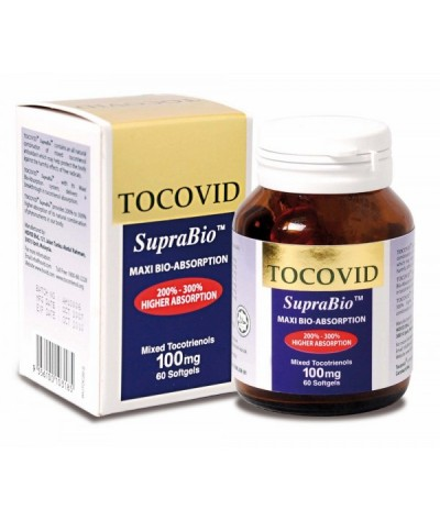 Hovid Tocovid SupraBio - Mixed Tocotrienols 100mg (60s)