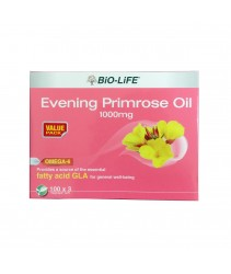 Bio-Life Evening Primrose Oil 1000Mg 100'Sx3 Vegicaps