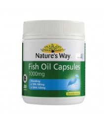 Nature's Way Fish Oil 1000mg Capsules 200'S