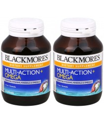 Blackmores Multi-Action + Omega 60s x 2 (Value Pack)
