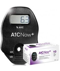 A1cNow+ Blood Glucose Test Kit (10 HbA1C Tests)