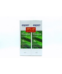 Aspen Liquid Chlorophyll Botanical Beverage (2x500ml )