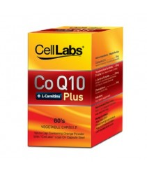 CellLabs CoQ10 + L-Carnitine Plus (60s)