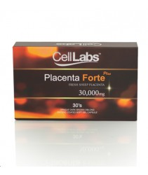CellLabs Sheep Placenta Forte Plus 30000mg (30s + 30s)
