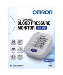 Omron HEM 7121 Automatic Blood Pressure Monitor