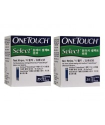 One Touch Select Simple Test Strip 2x25S