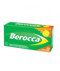 Berocca Effervescent Orange Tablets 30s