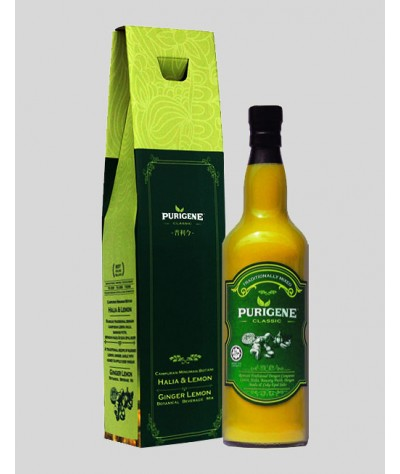 Purigene Classic Ginger Lemon Botanical Beverage Mix 750ml