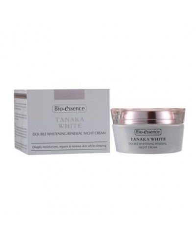 Bio-Essence Tanaka White Double Whitening Renewal Night Cream 50g