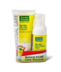 Thursday Plantation Tea Tree & Witch Hazel Toner (100ml) Free Daily Face Cleanser Value Pack