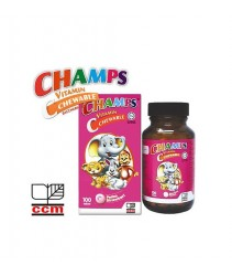 Champs Multivitamin Saccharin Free Strawberry