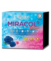 CellLabs Miracol 9 Plus (15 Sachets x 20g)
