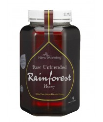 New Morning Raw Unblended Rainforest Honey (1kg)