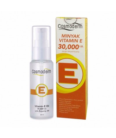 Cosmoderm Vitamin E Oil 30000IU 30mL