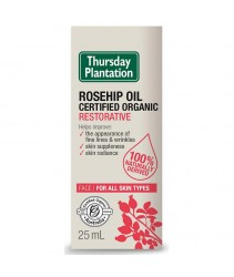 Thursday Plantation Rosehip Oil Certified Organic Restorative 25mL
