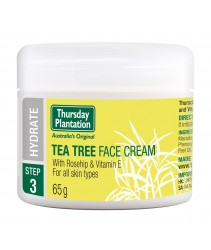 Thursday Plantation Tea Tree Face Cream with Rosehip & Vitamin E 65g