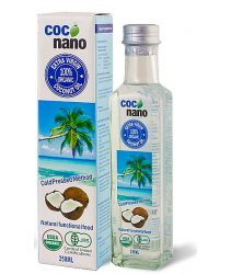 Coconano 100% Extra Virgin Organic Coconut Oil 250mL