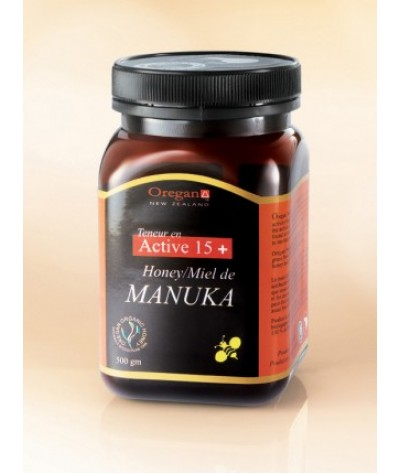 Oregan Manuka Honey Active 15+ 500g