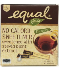 Equal Stevia 40 sticks - No calorie sweetener