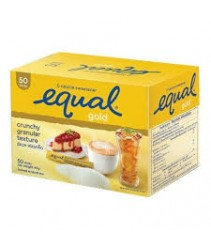 Equal Gold 50 sticks - Crunchy granular sweeter