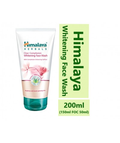 HIMALAYA Clear Complexion Whitening Face Wash 150ml FOC 50ml