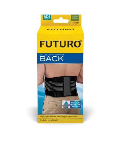 Futuro Deluxe Back Support Adjustable Size 46819
