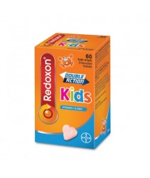 Redoxon Double Action Kids Vitamin C & Zinc 60s