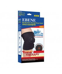 EBENE Bio-Ray Extra Strength Knee Guard Heat Therapy 1's Free Size