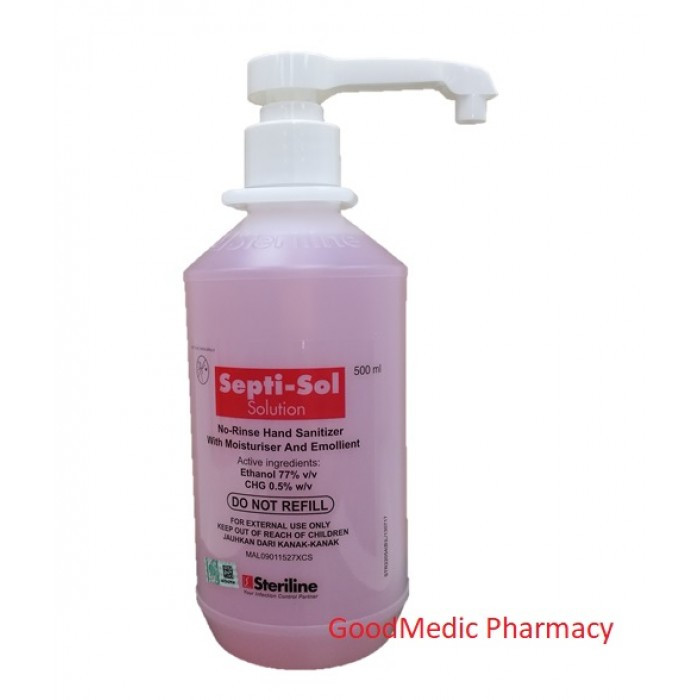 Septi-Sol Solution Hand Sanitizer 500ml
