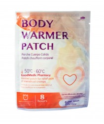 Body Warmer Patch - To relief pain of menstrual cramps