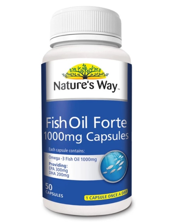 Nature 39 s way fish oil forte 1000mg 50s for Is fish oil safe during pregnancy